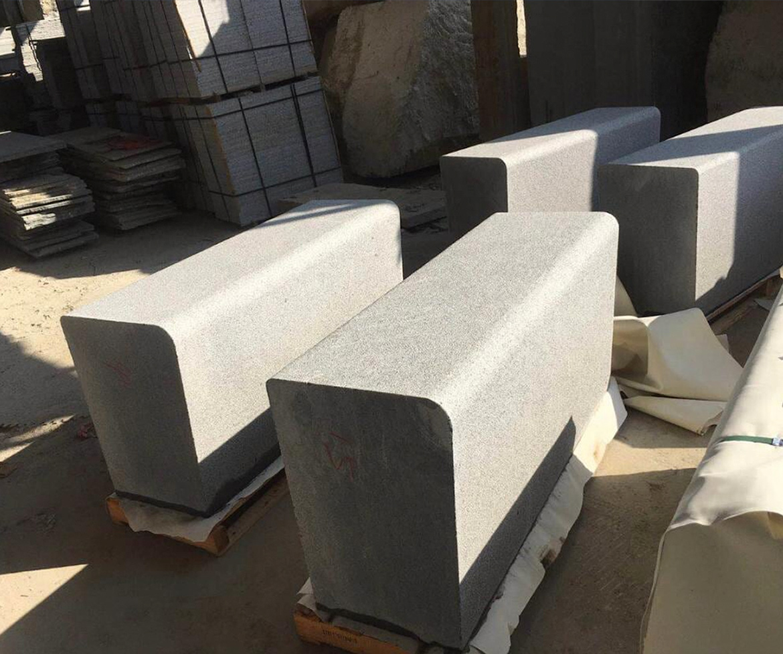 Bespoke granite seat