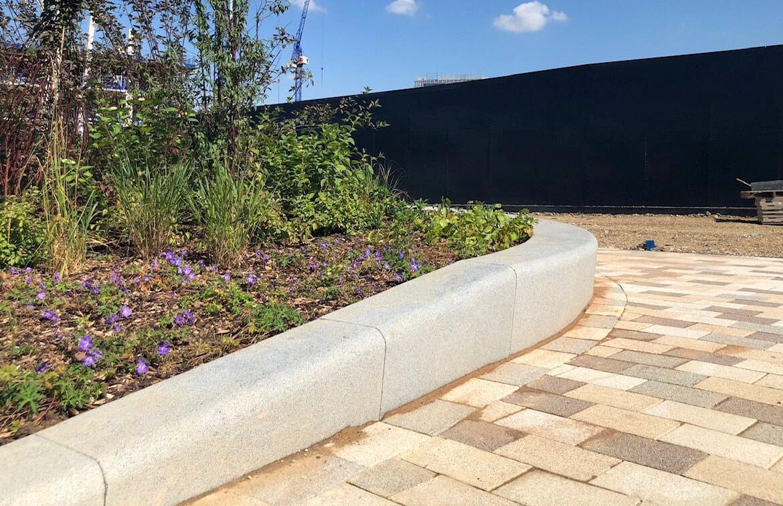 Bespoke flower bed
