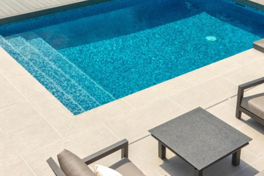 Paving Swimming pool